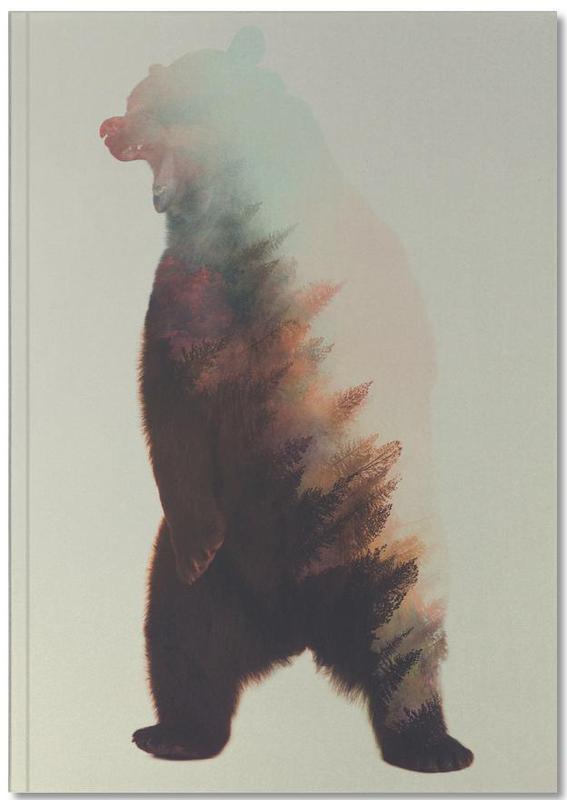 Norwegian Woods: Roaring Bear Notebook