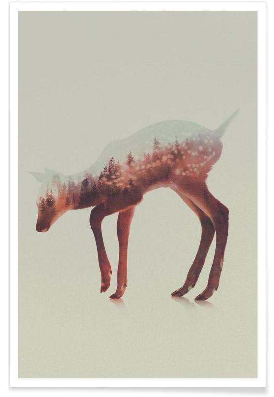 Herten, Hert double exposure poster
