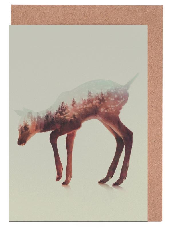 Herten, Norwegian Woods: The Deer wenskaartenset