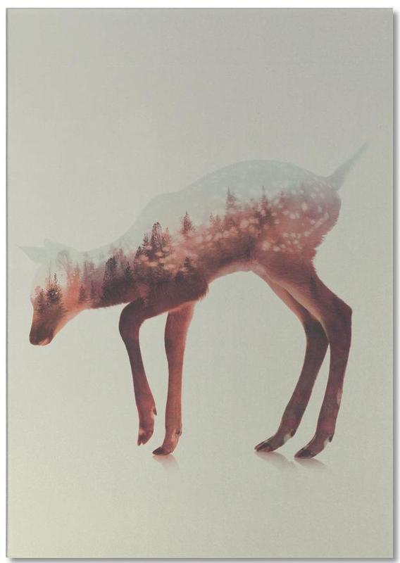 Norwegian Woods: The Deer Notepad