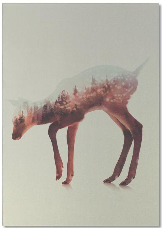 Norwegian Woods: The Deer -Notizblock