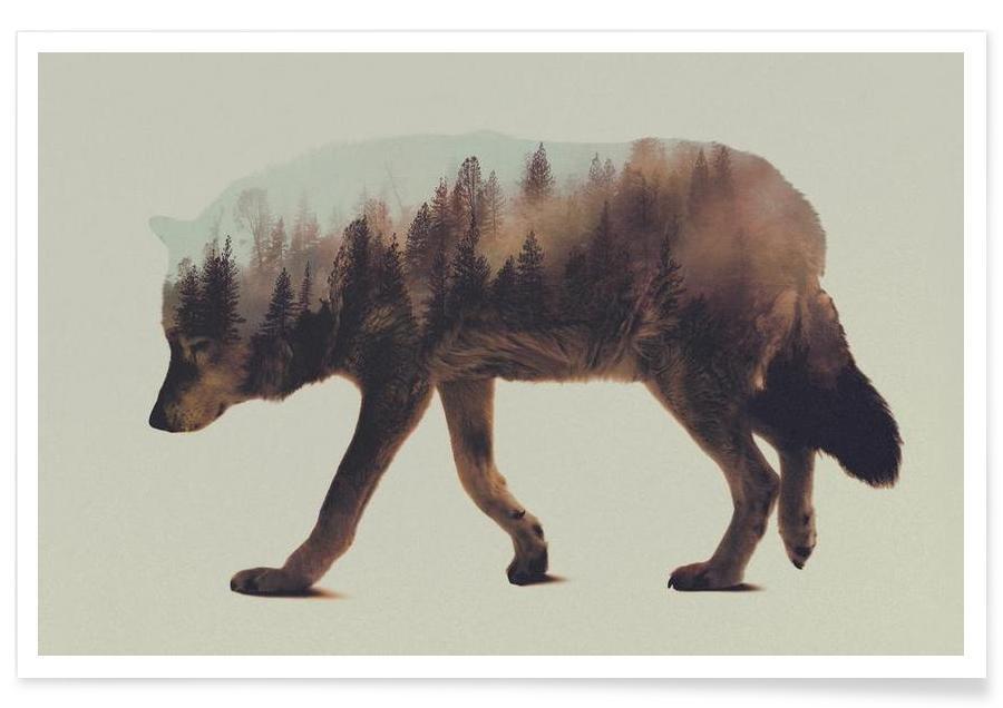 Loups, Loup - Surimpression affiche