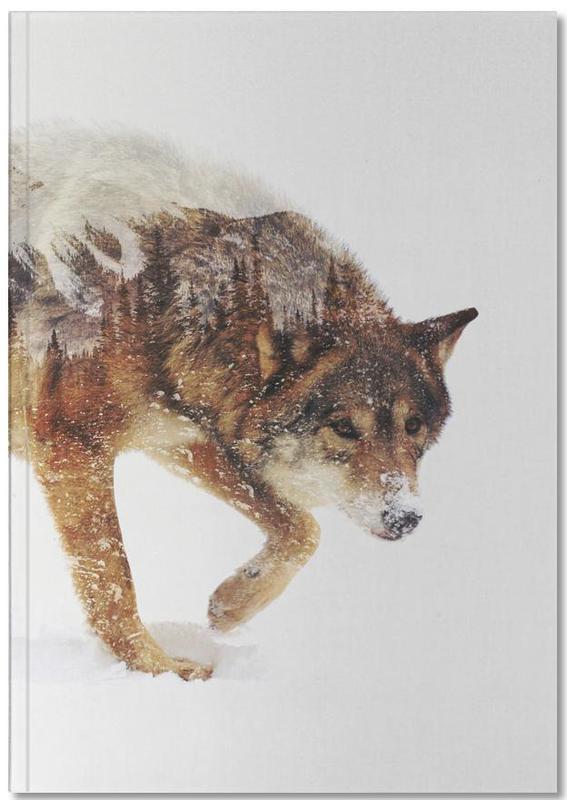 Arctic Wolf Notebook