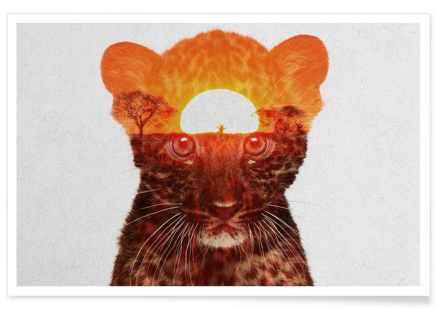 Luipaarden, Luipaard double exposure poster