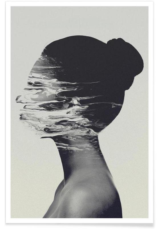 Zwart en wit, Gone poster