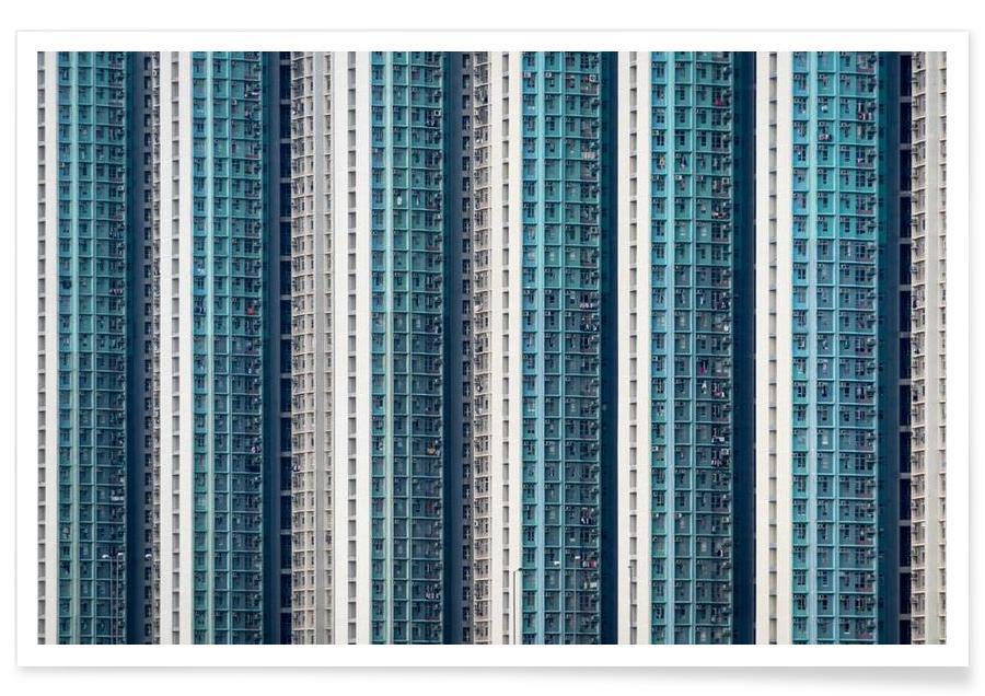 Skyskrabere & højhuse, Hongkong, Propinquity Hong Kong 1 Plakat
