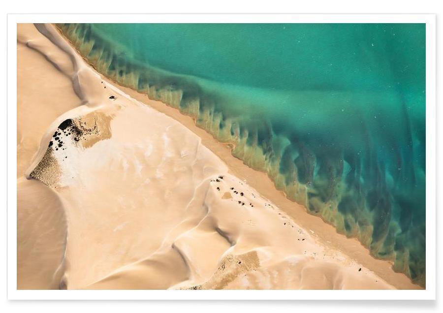 Wüsten, Shark Bay 3 -Poster