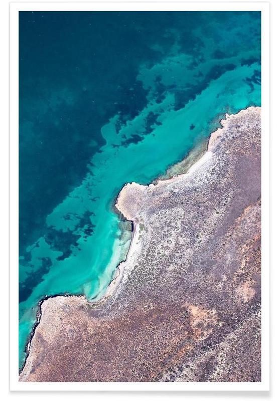 Océans, mers & lacs, Shark Bay 9 affiche
