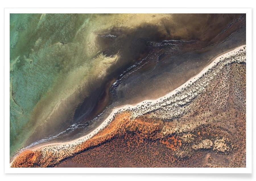 Océans, mers & lacs, Shark Bay 16 affiche