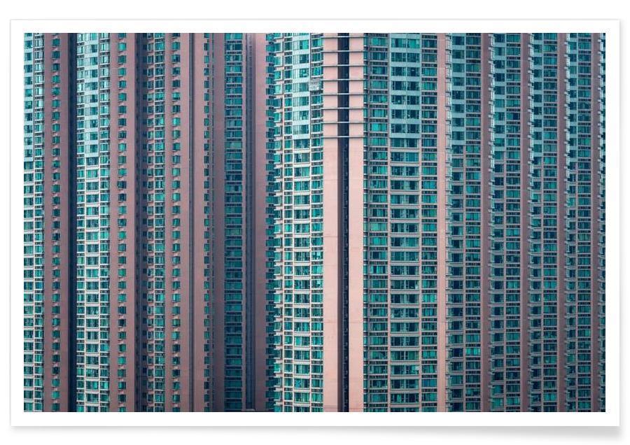Gratte-ciels, Hong Kong, Propinquity Hong Kong 4 affiche