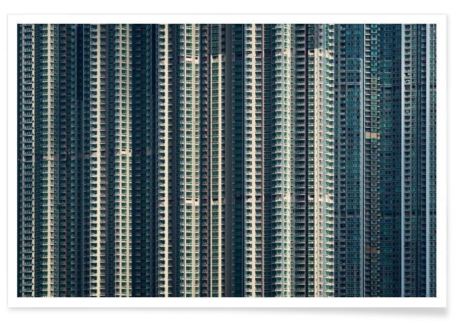 Gratte-ciels, Hong Kong, Propinquity Hong Kong 6 affiche