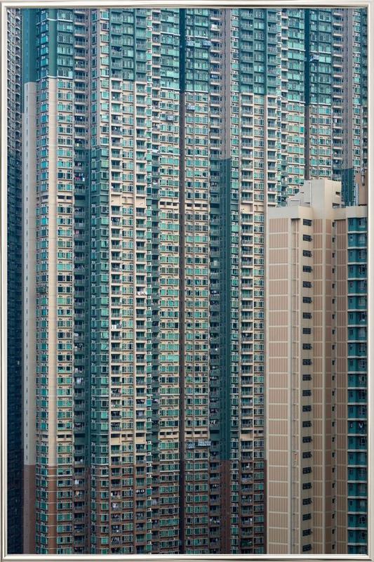 Propinquity Hong Kong 7 -Poster im Alurahmen