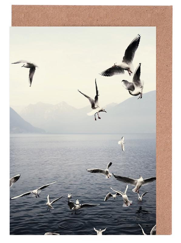 Seagulls -Grußkarten-Set