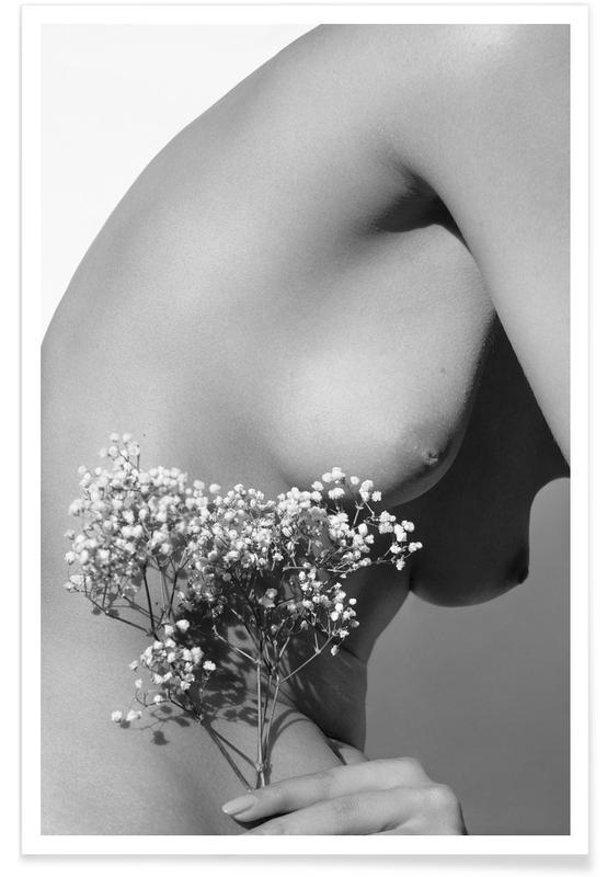 Black & White, Nude, Nude 01 Poster