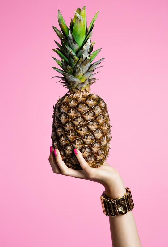Pineapple Impression sur alu-Dibond