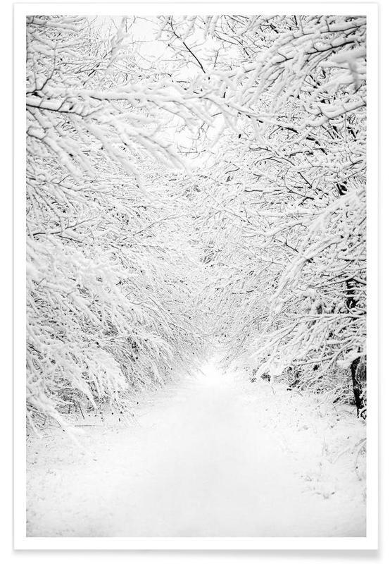 Bossen, Walking in a Winter Wonderland poster