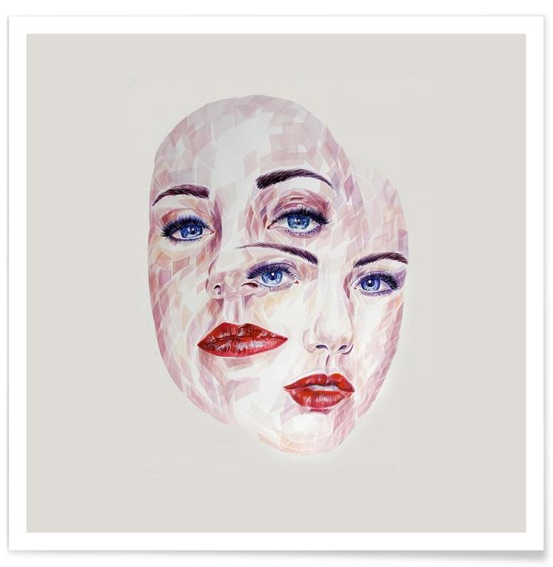 Porträts, Hypnotic -Poster
