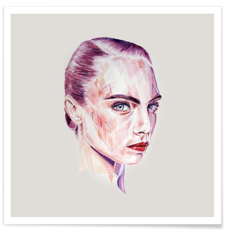 Porträts, Kalon -Poster