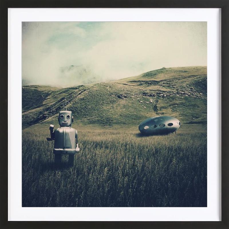 And What If Framed Print