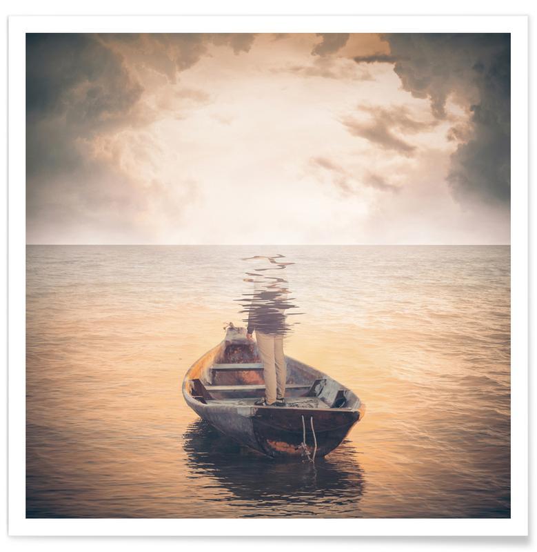 Glas Sea -Poster