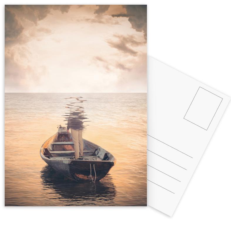 Boote, Glas Sea -Postkartenset