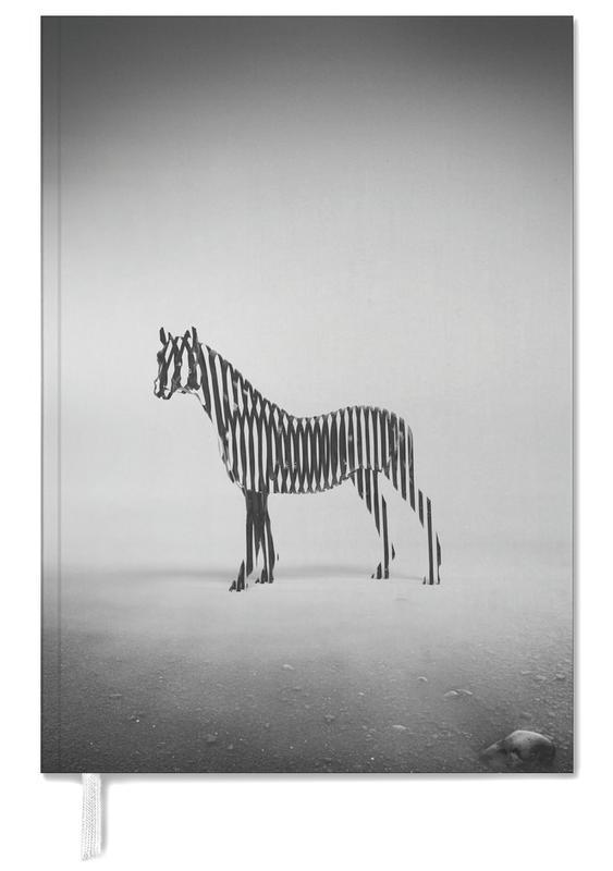 Black & White, Zebras, Zebra Mist Personal Planner