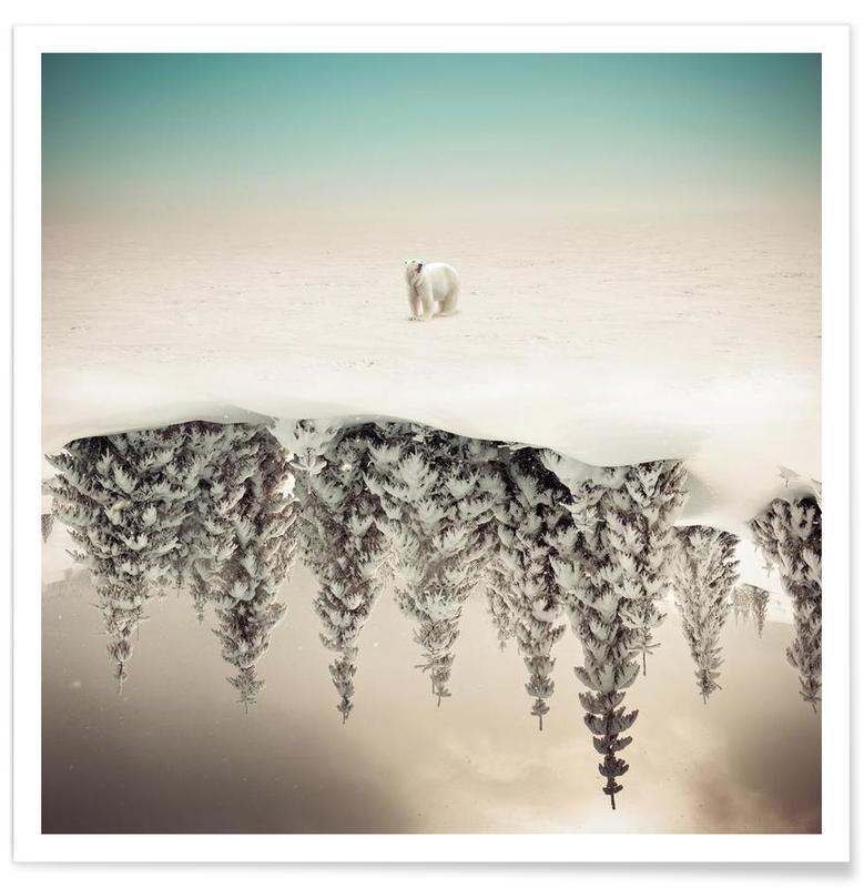 Abstrakte Landschaften, Brod -Poster