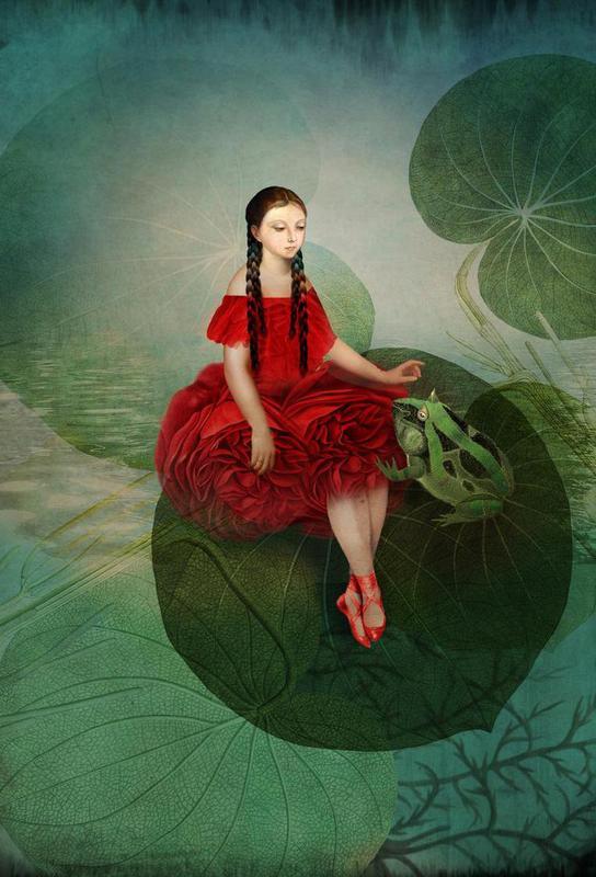 Thumbelina -Acrylglasbild