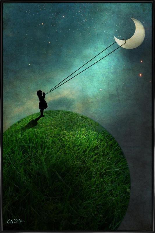 Chasing The Moon ingelijste poster
