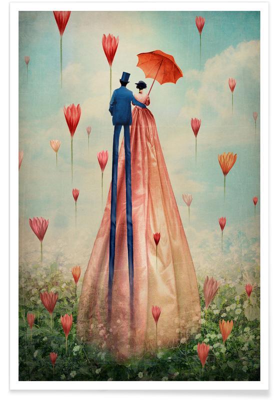 Drømmende, Årsdag & kærlighed, Bryllupper, Par, Good Morning Plakat