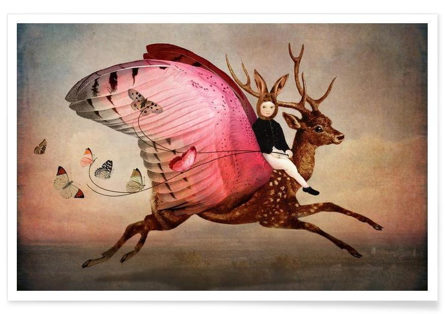 Fantasie- & Mischwesen, Traumwelt, Enjoy The Ride -Poster