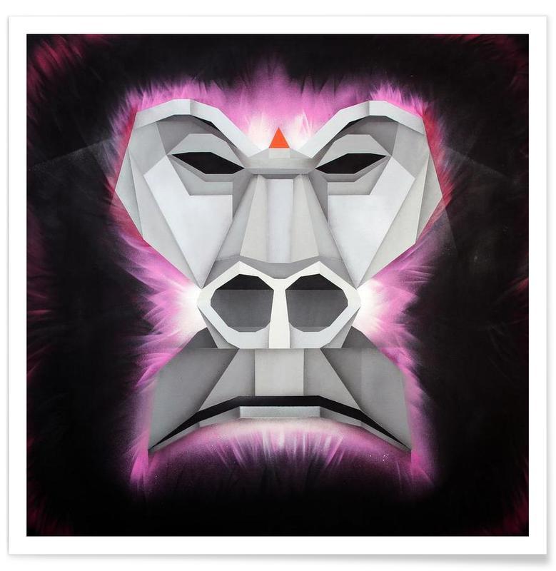 Monkeys, Gorilla Poster