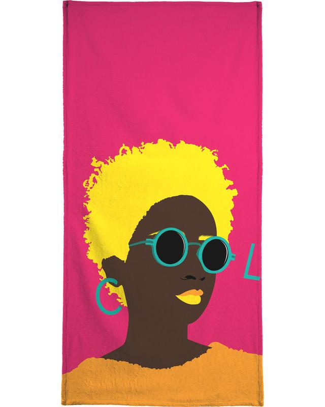 Illustrations de mode, Portraits, Cool serviette de plage