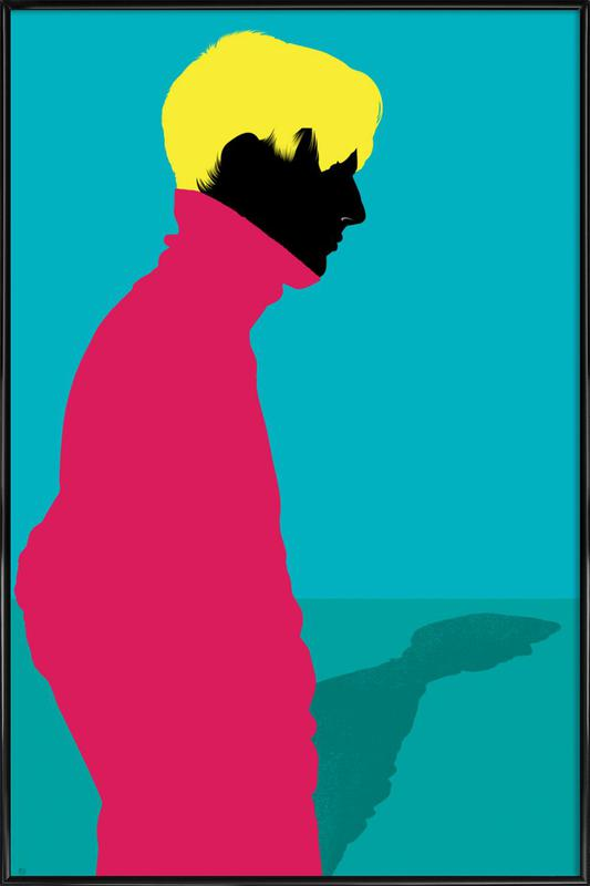 Menswear 1 - Cold Framed Poster