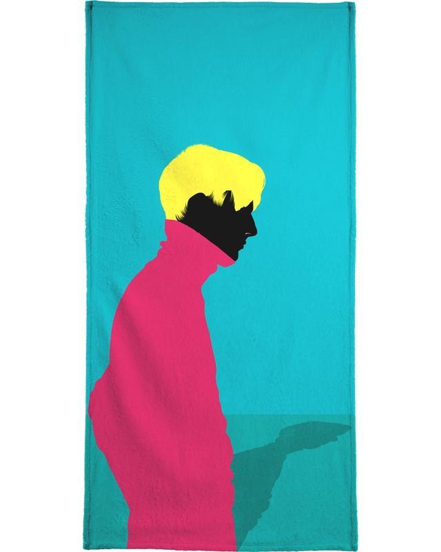 Illustrations de mode, Menswear 1 - Cold serviette de plage