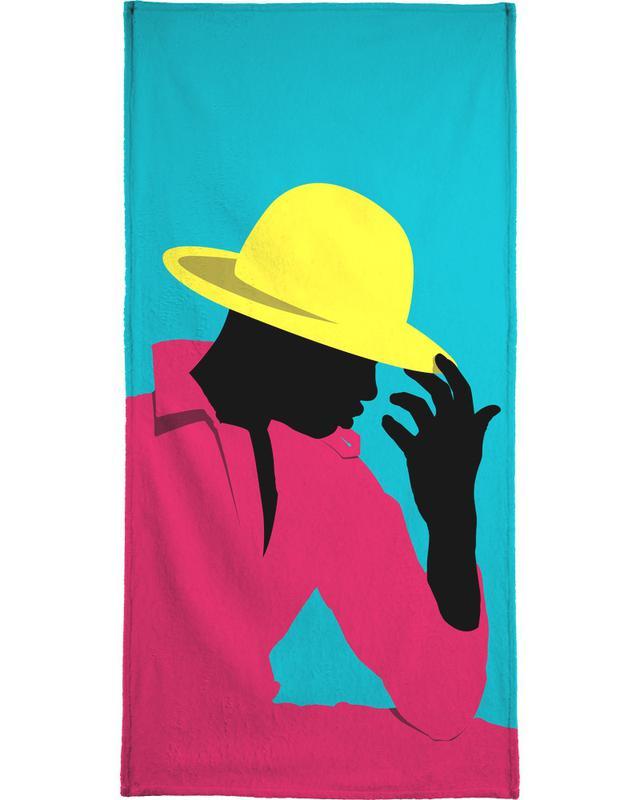 Illustrations de mode, Menswear 3 - Hat serviette de plage