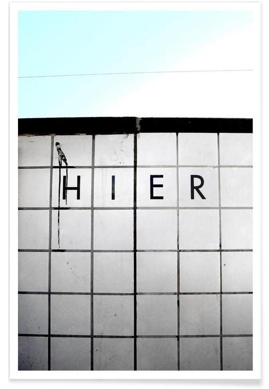 Architekturdetails, Nirgendwo Anders -Poster