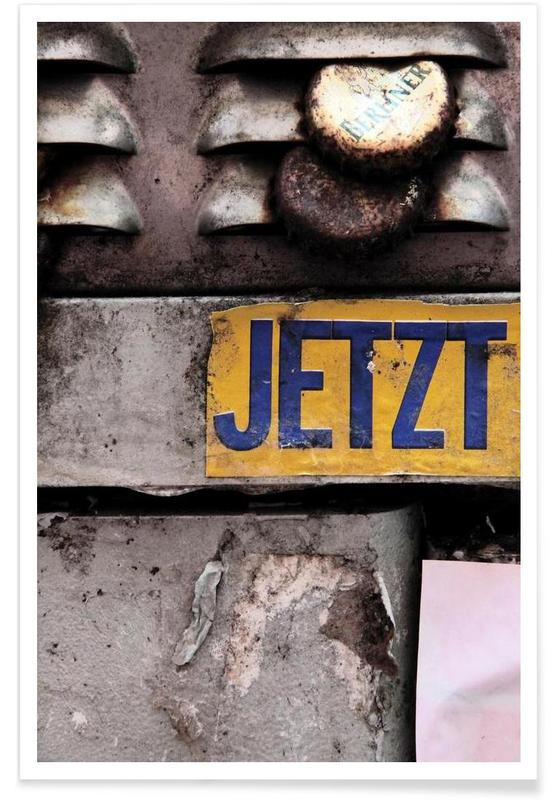 Architectonische details, Absolute Gegenwart poster