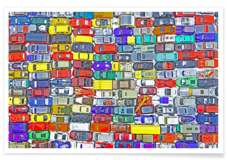 Autos, Kinderzimmer & Kunst für Kinder, Rush Hour III -Poster