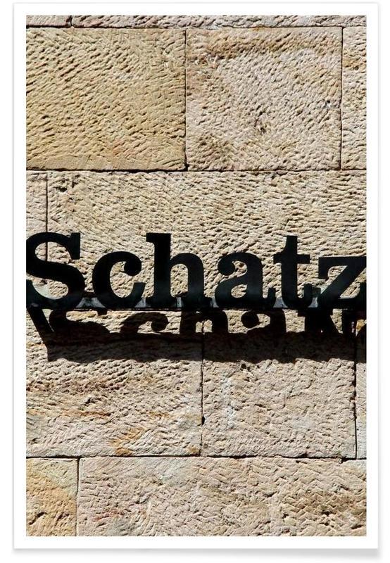 Liebe & Jahrestage, Architekturdetails, Valentinstag, Die Unangefochte Nummer 1 -Poster
