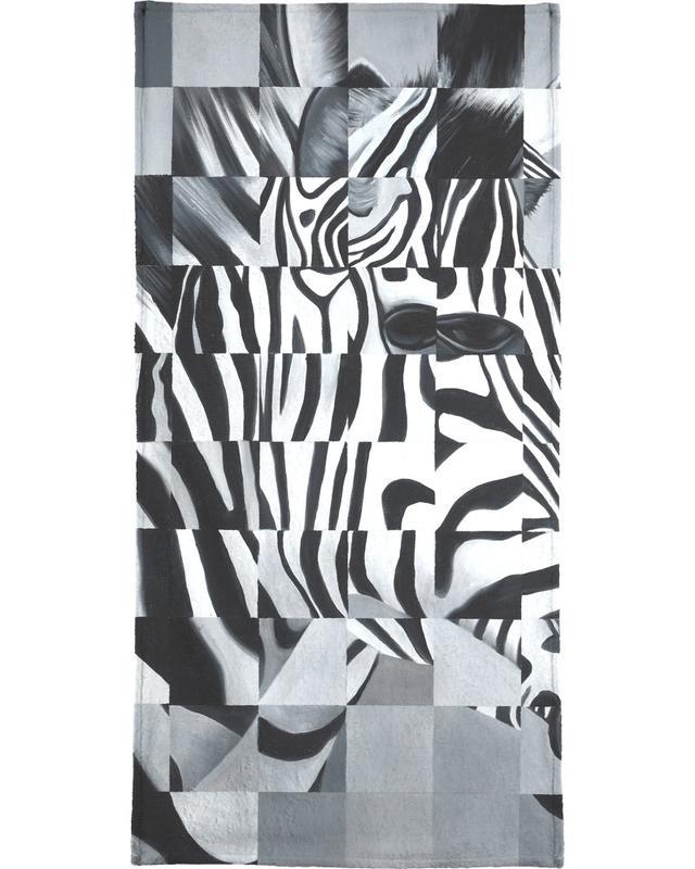 Zebra -Handtuch