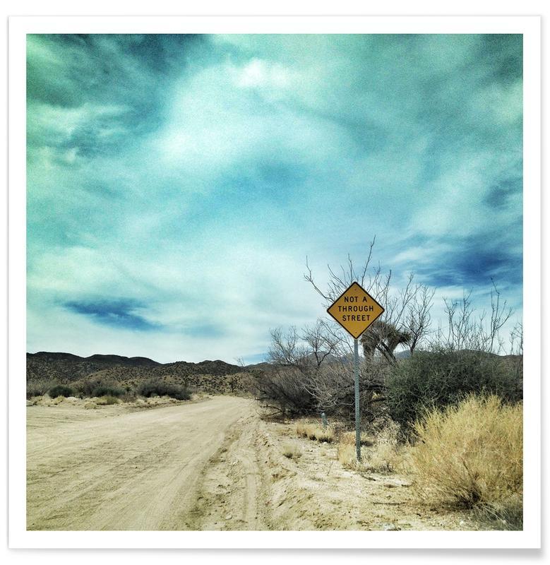 Deserts, Desert Road Poster