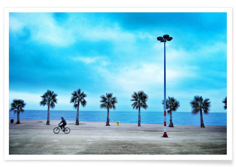 Plages, Costa Brava Beach affiche