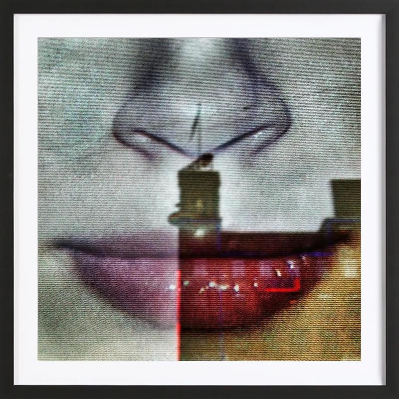 Reflex Mouth Framed Print