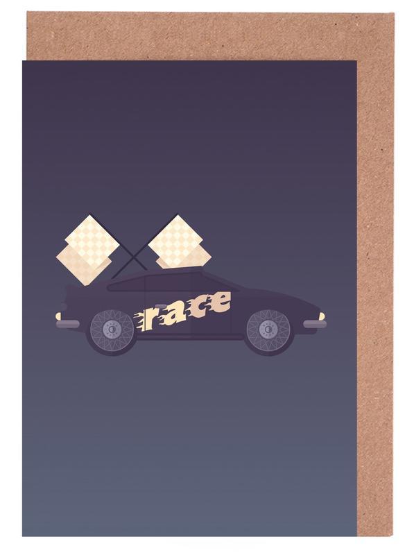 Wilhemlsburg - Race Greeting Card Set