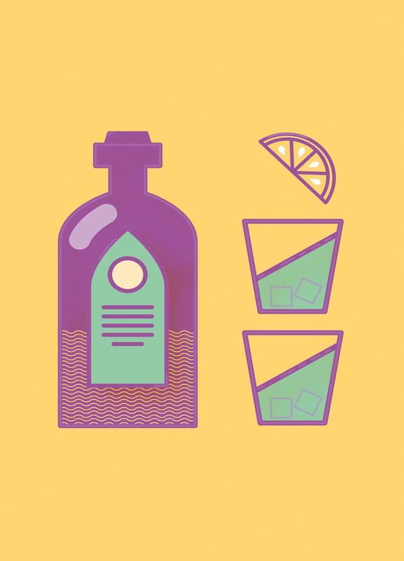 Sternschanze - Drinks Canvas Print