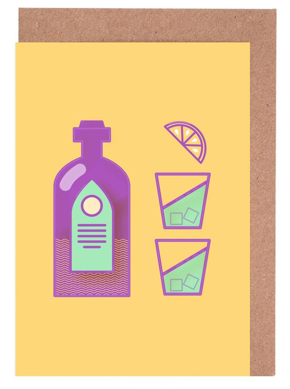 Sternschanze - Drinks -Grußkarten-Set