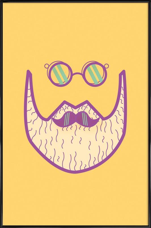 Sternschanze - Hipster -Bild mit Kunststoffrahmen