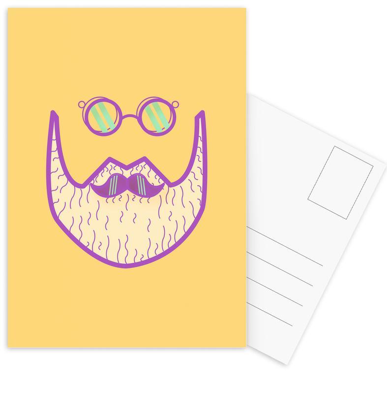 Sternschanze - Hipster -Postkartenset