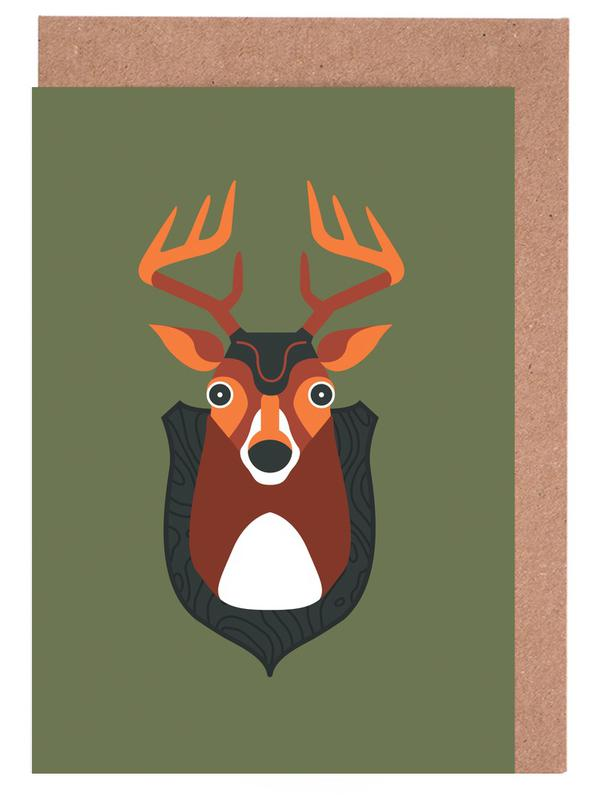 Blankensee - Deer Greeting Card Set